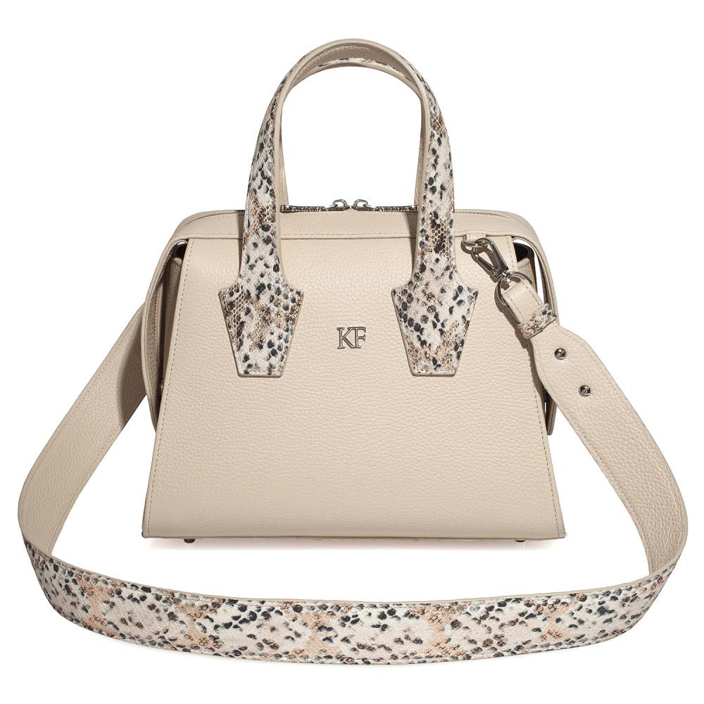 Жіноча шкіряна сумка Inga KF-4206