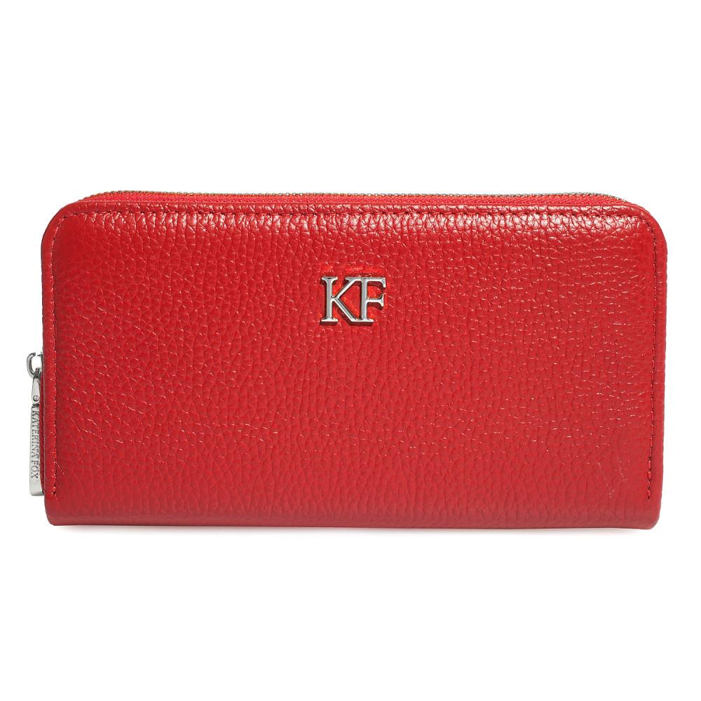 Women's leather wallet Classic KF-423