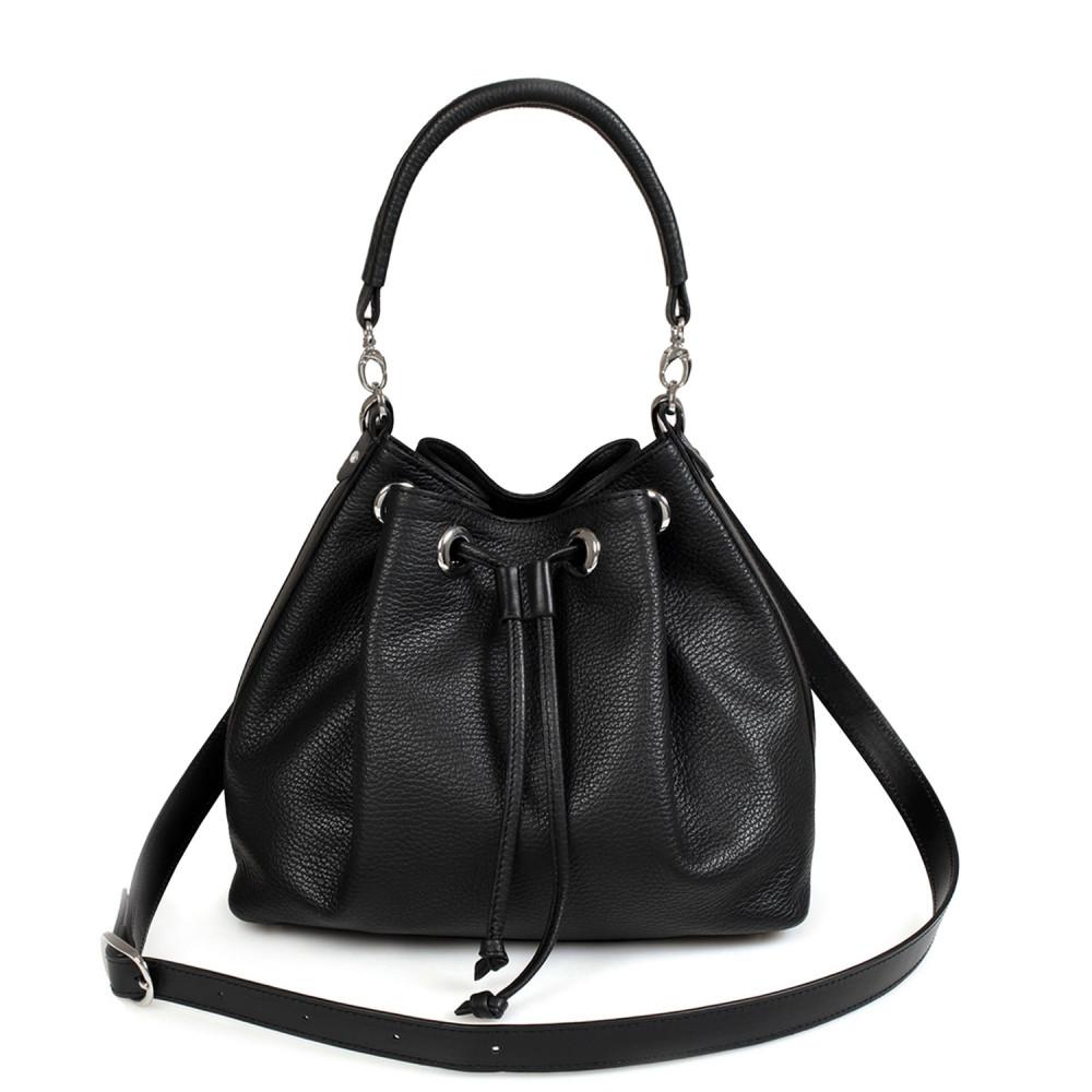 Women's leather Hobo bag Sonya KF-425