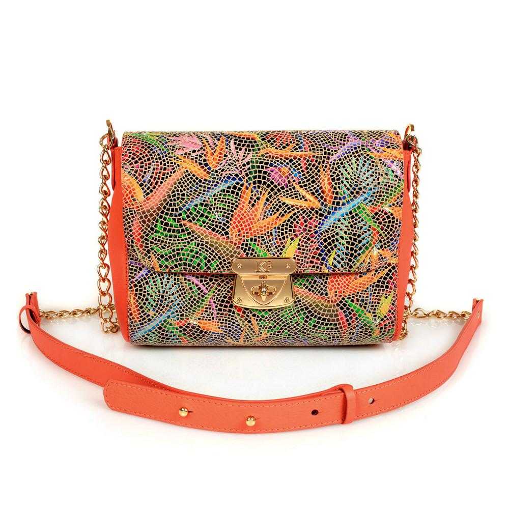 Жіноча шкіряна сумка на ланцюжку Prima S KF-428-