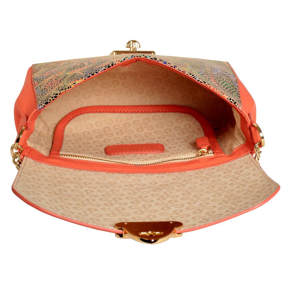 Жіноча шкіряна сумка на ланцюжку Prima S KF-428-4
