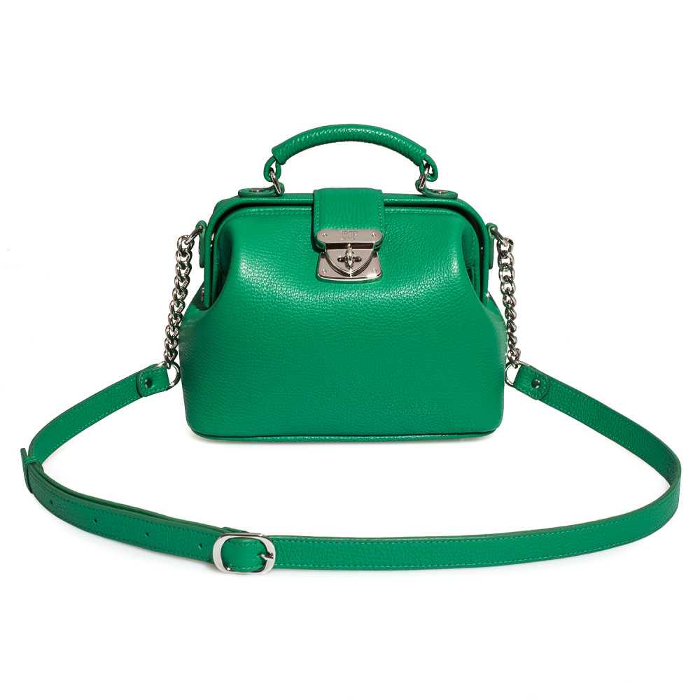 Women's leather doctor bag Diana KF-4302