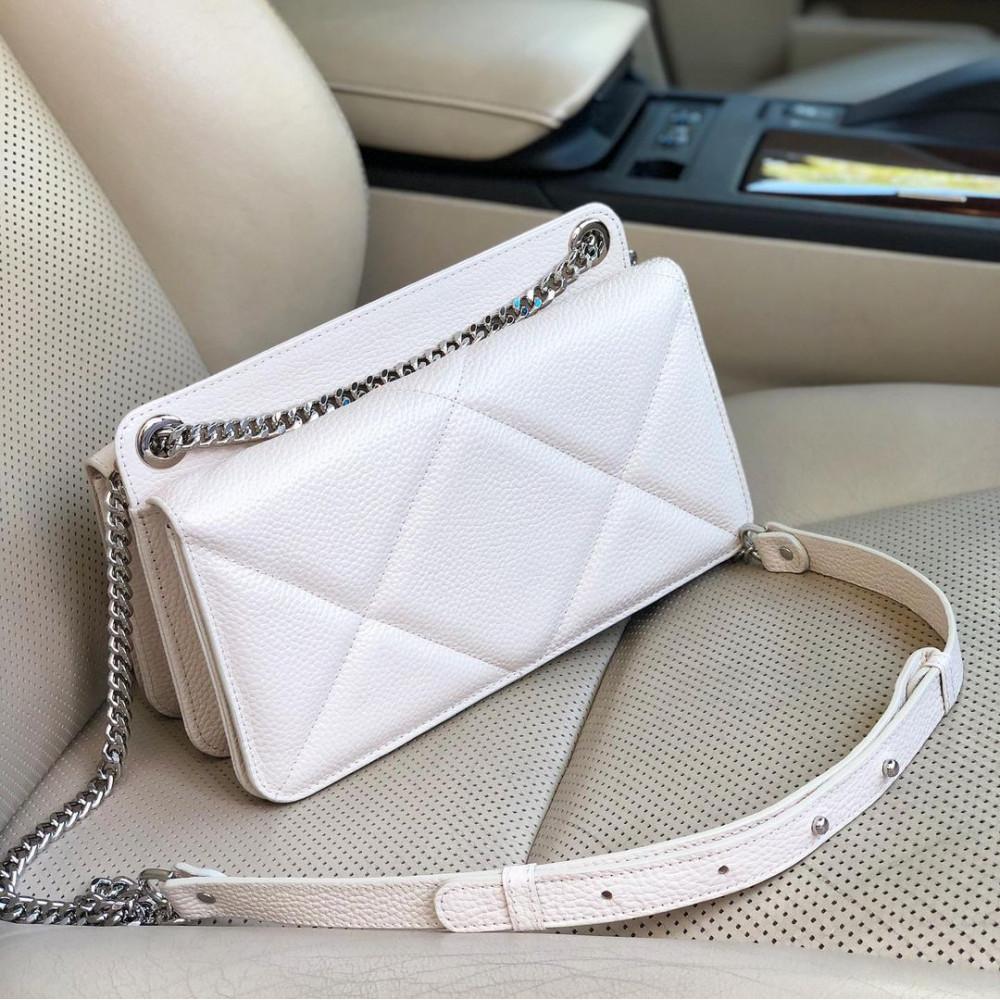 Жіноча шкіряна сумка на ланцюжку Elvira M KF-4321