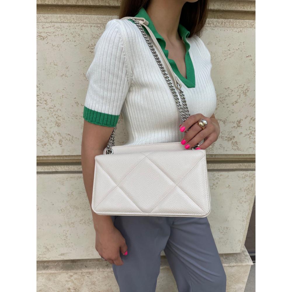 Жіноча шкіряна сумка на ланцюжку Elvira M KF-4321-9