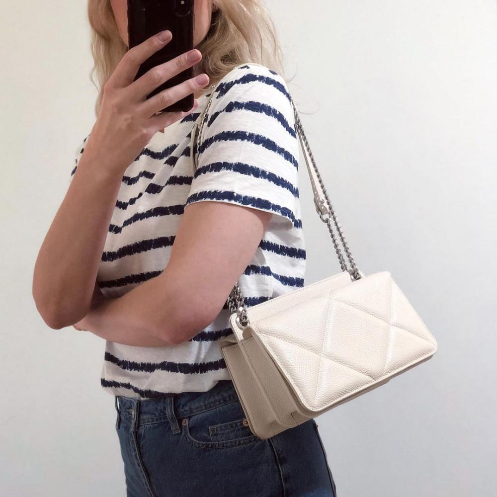 Жіноча шкіряна сумка на ланцюжку Elvira M KF-4321-6