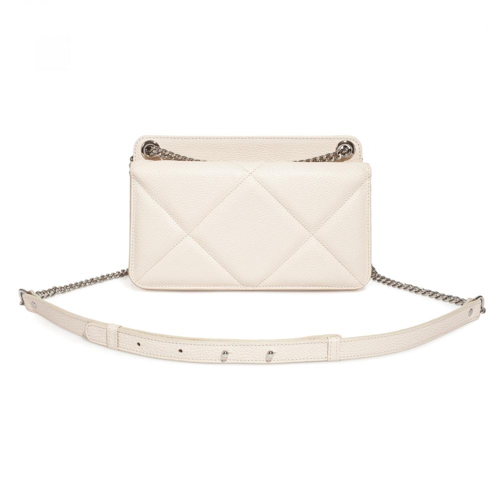 Жіноча шкіряна сумка на ланцюжку Elvira M KF-4321-1