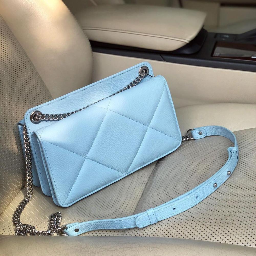 Жіноча шкіряна сумка на ланцюжку Elvira M KF-4327