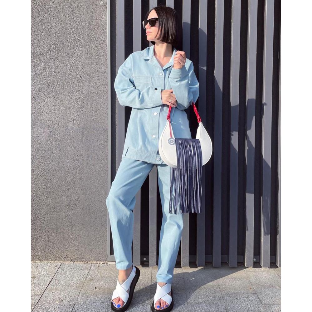 Жіноча шкіряна сумка Moonlight KF-4333-1