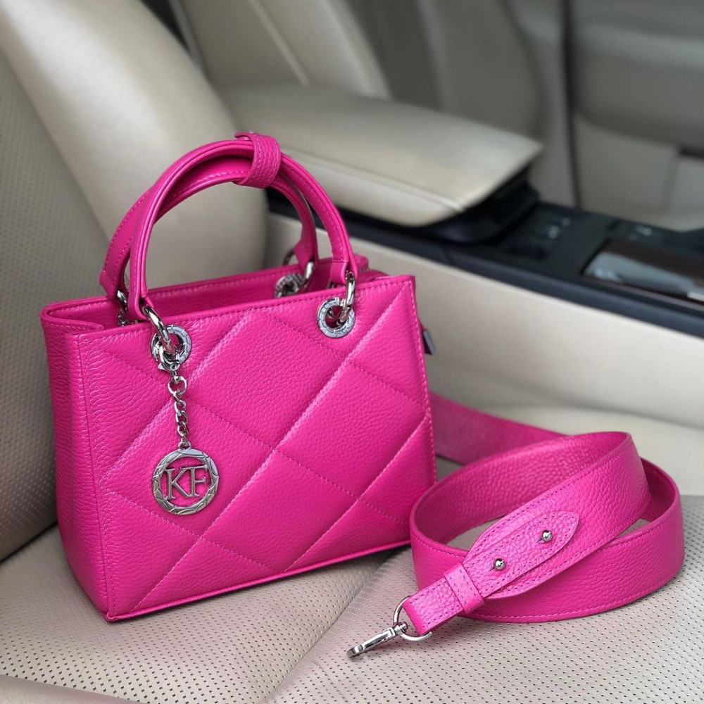 Жіноча шкіряна сумка Vera S KF-4364