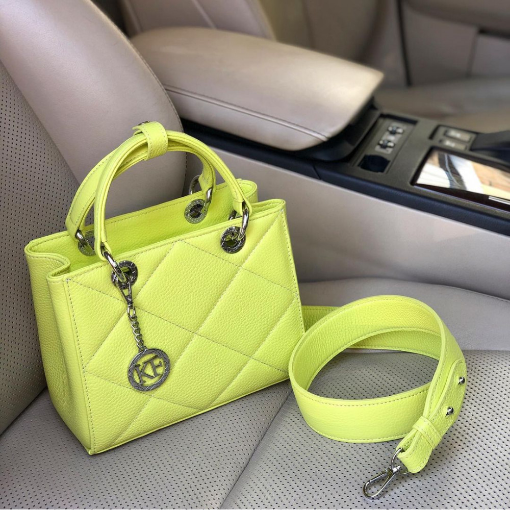 Жіноча шкіряна сумка Vera S KF-4374