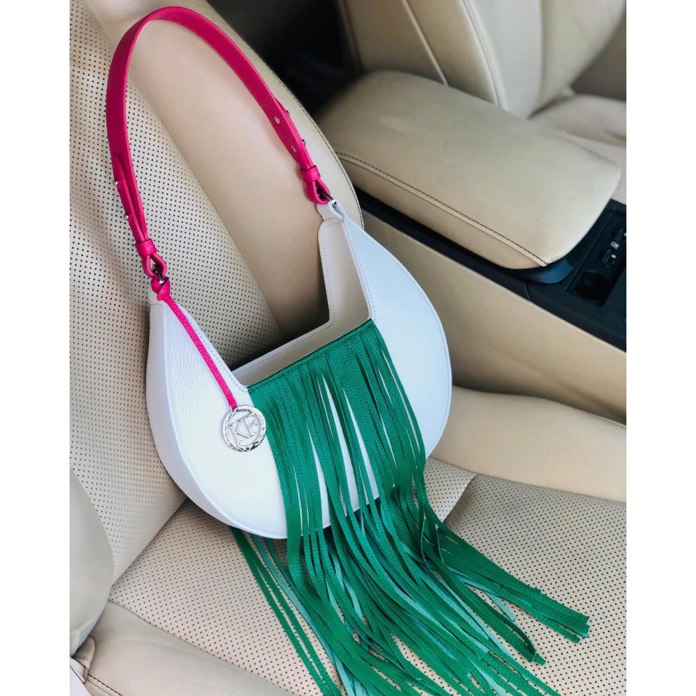 Women's leather bag Moonlight KF-4395