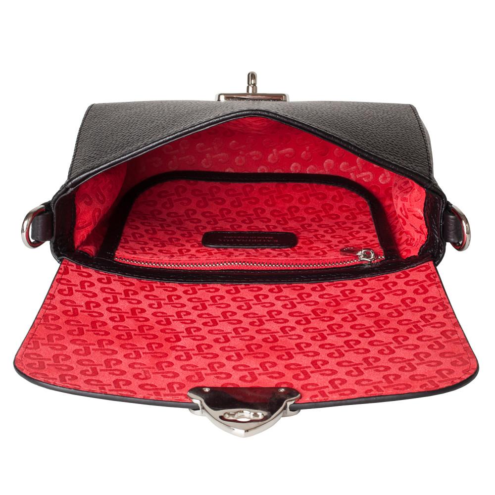 Жіноча шкіряна сумка кросс-боді Prima S KF-4422-3