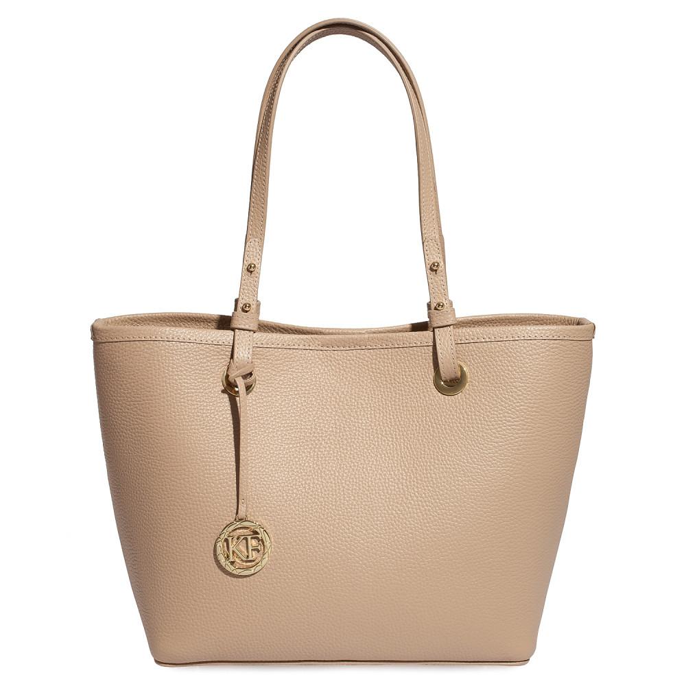 Жіноча шкіряна сумка Тоут Tina KF-4451