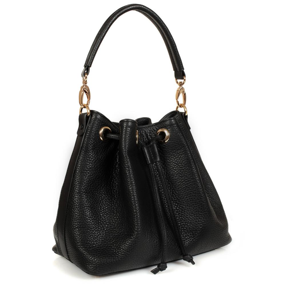 Жіноча шкіряна сумка-мішок Хобо Sonya KF-447-1