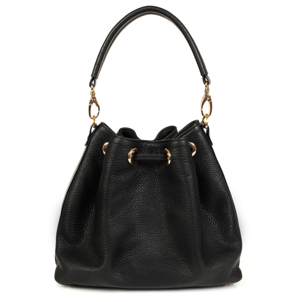 Жіноча шкіряна сумка-мішок Хобо Sonya KF-447-3