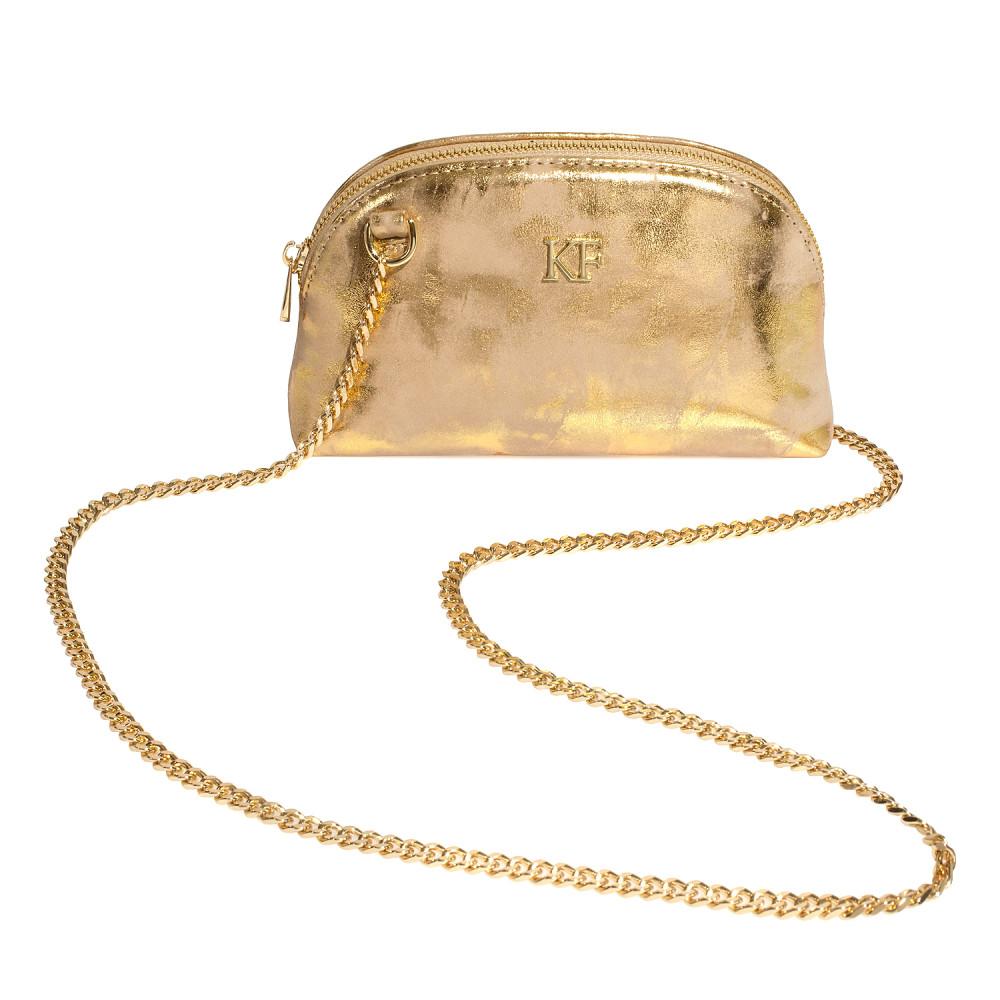 Women's leather mini bag Ksusha KF-4494