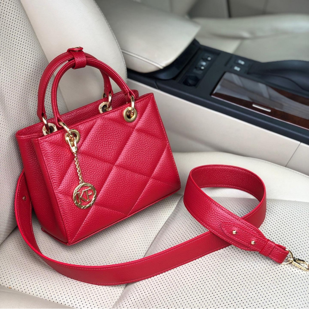 Жіноча шкіряна сумка Vera S KF-4508