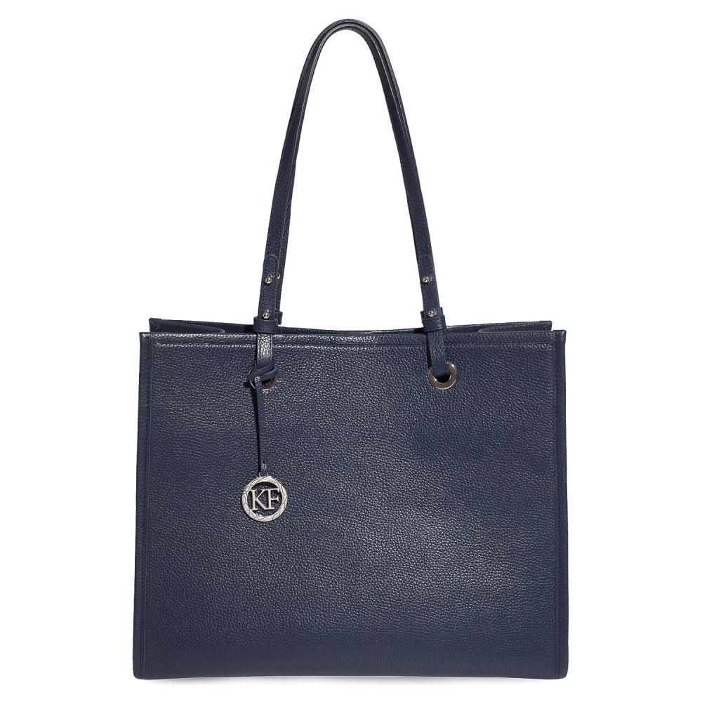 Жіноча шкіряна сумка Shopper KF-4566