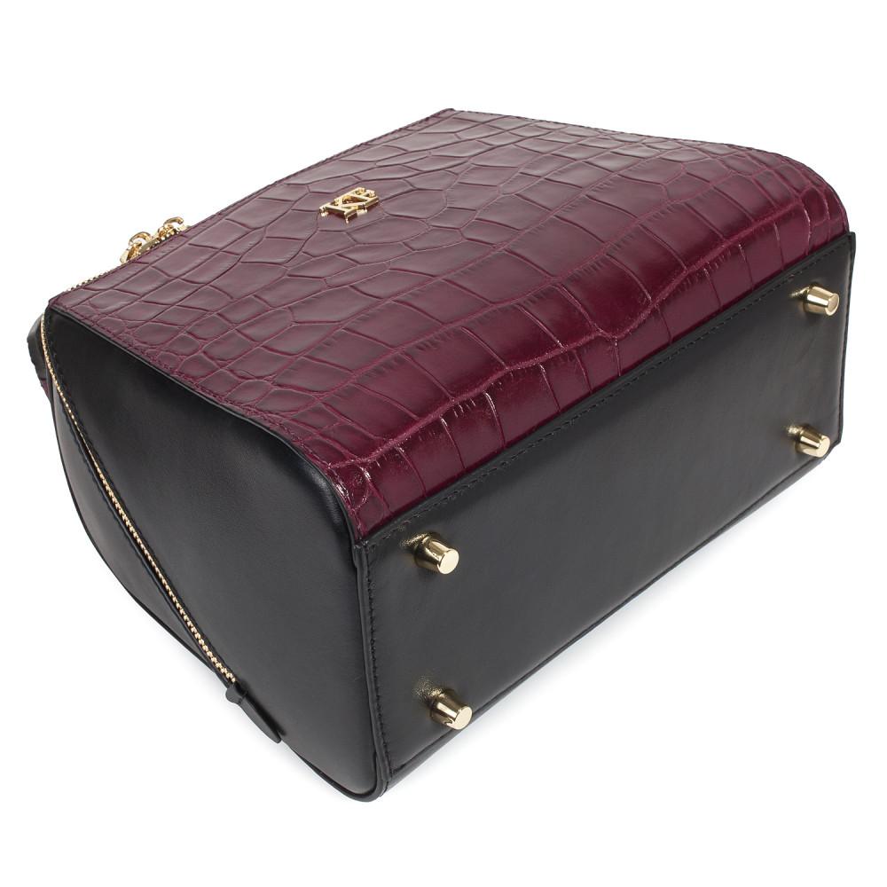 Жіноча шкіряна сумка Elegance KF-4585-4