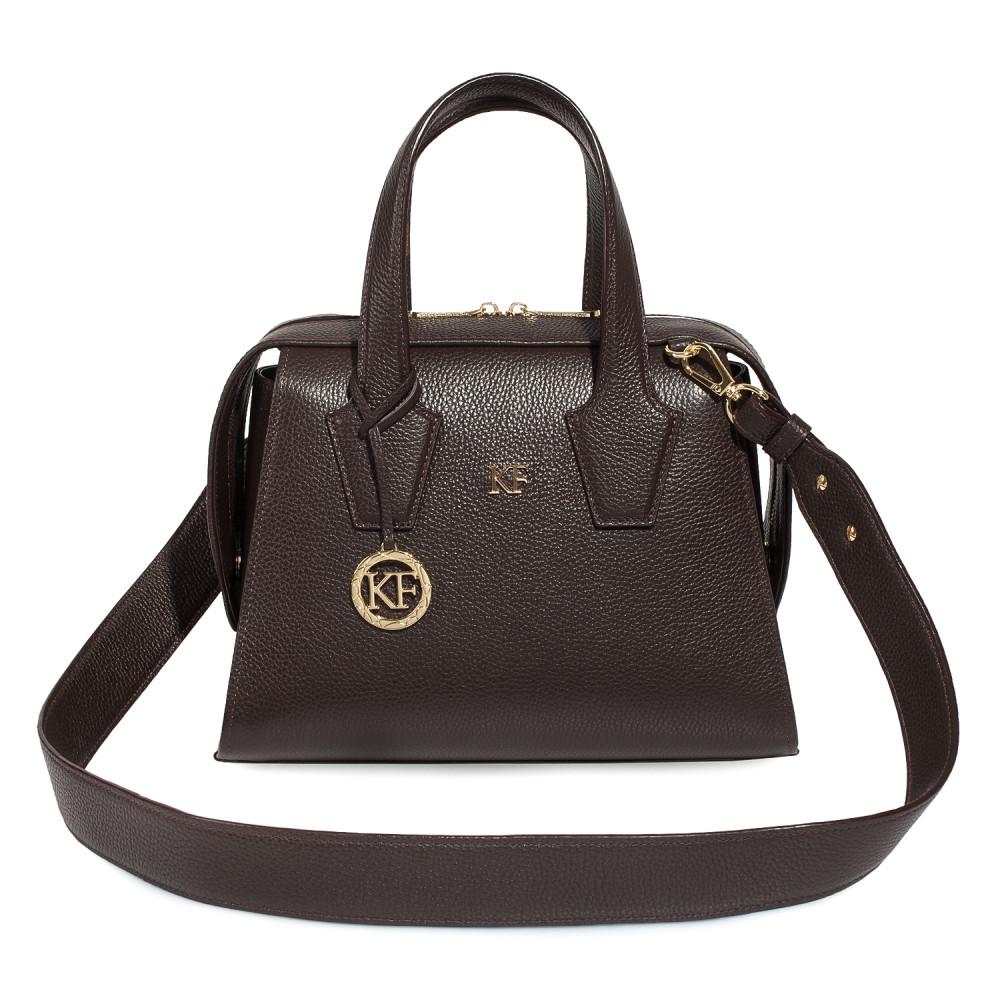 Жіноча шкіряна сумка Inga KF-4594-