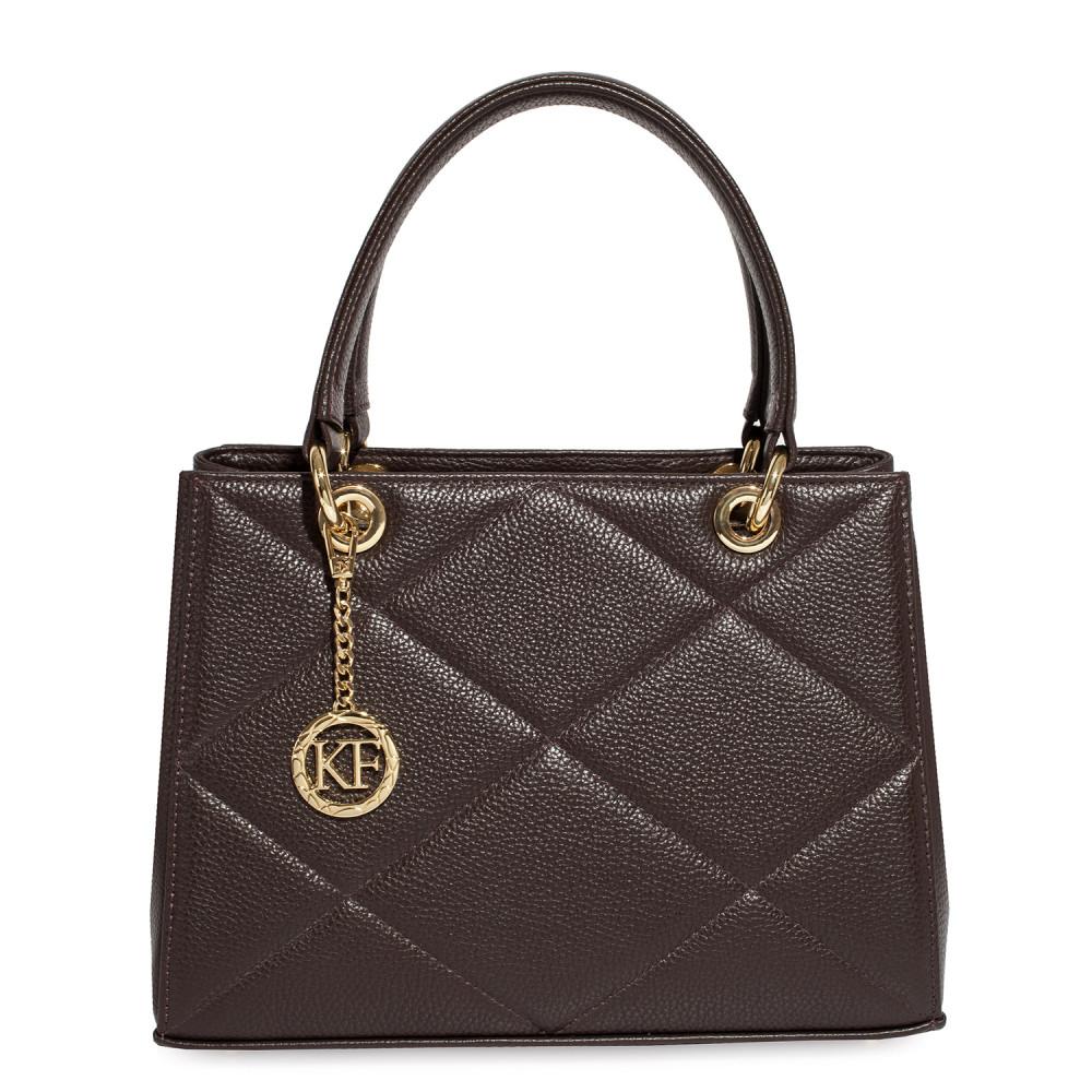 Жіноча шкіряна сумка  Vera M KF-4602-2