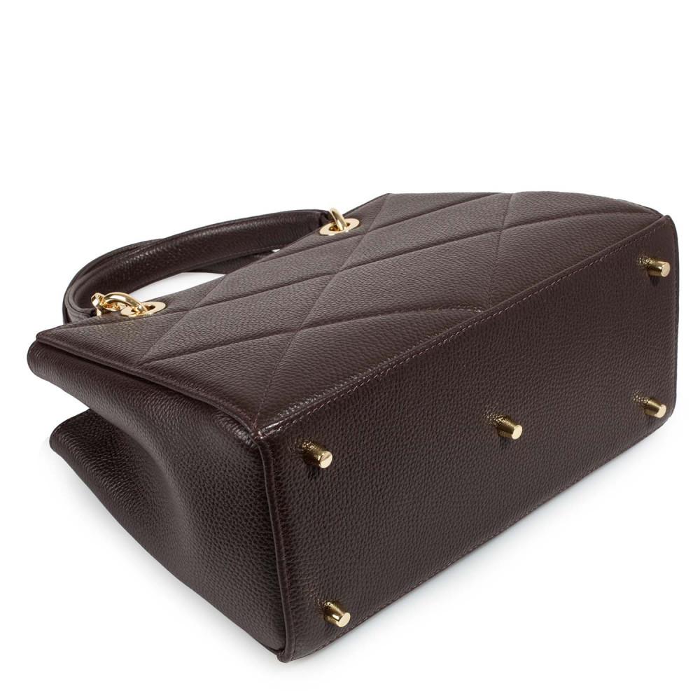 Жіноча шкіряна сумка  Vera M KF-4602-3