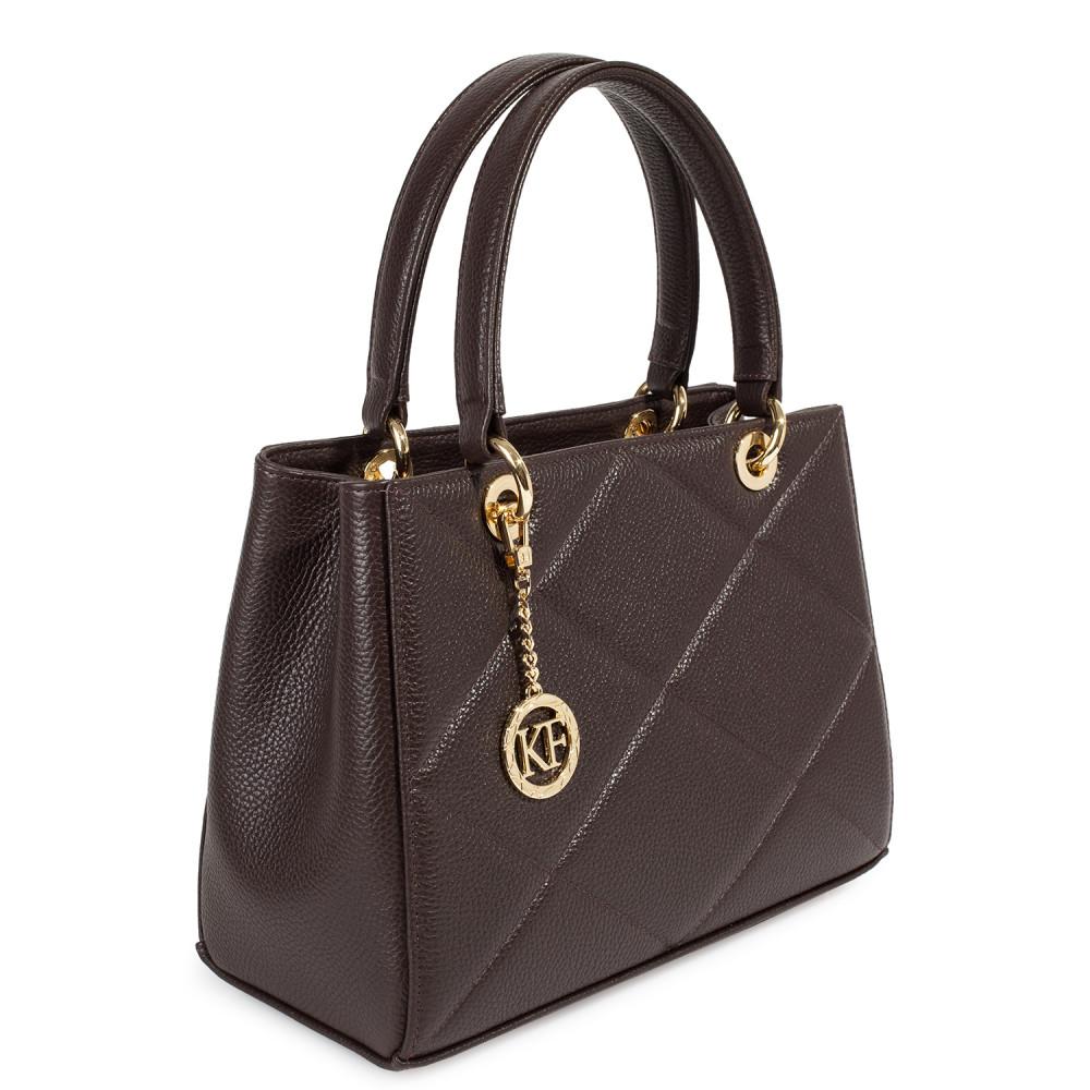 Жіноча шкіряна сумка  Vera M KF-4602-4