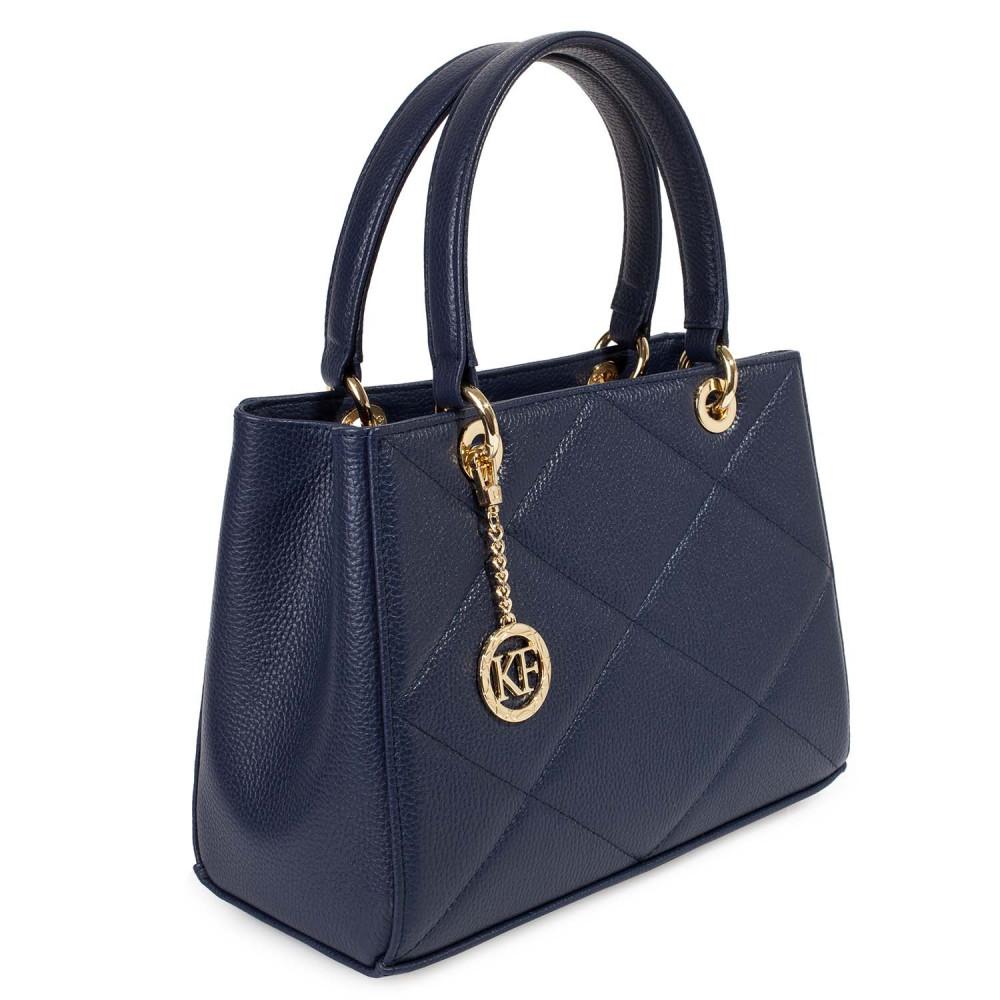 Жіноча шкіряна сумка  Vera M KF-4603-1