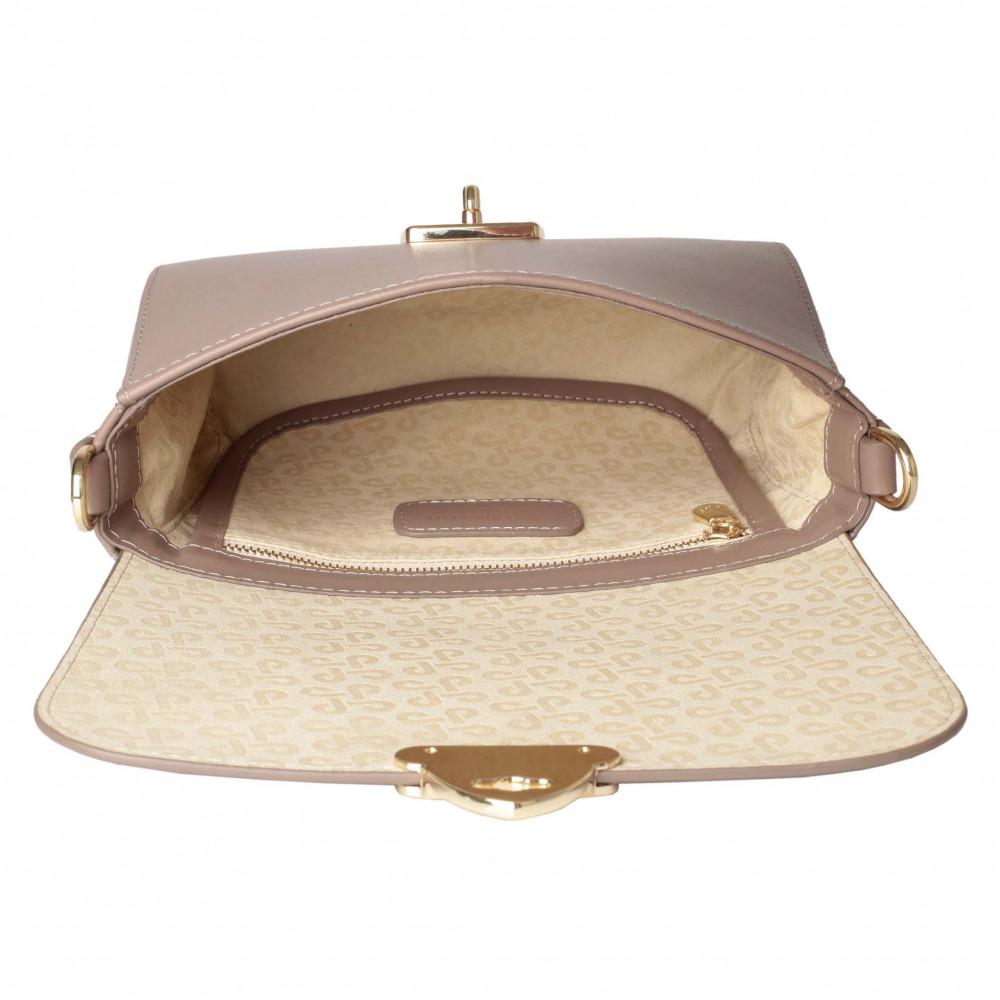 Жіноча шкіряна сумка кросс-боді на широкому ремені Prima S KF-4622-3