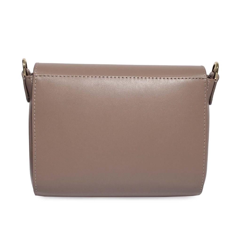 Жіноча шкіряна сумка кросс-боді на широкому ремені Prima S KF-4622-6