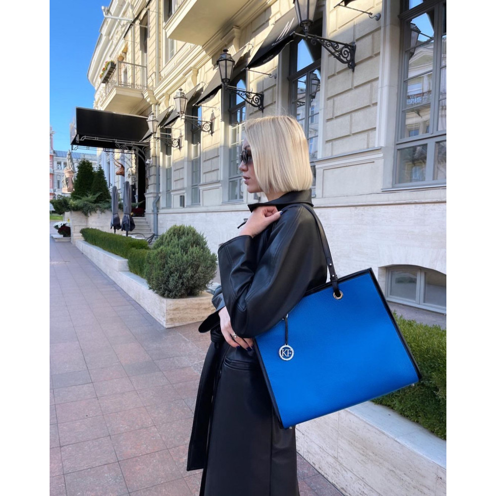 Жіноча шкіряна сумка Shopper KF-4650