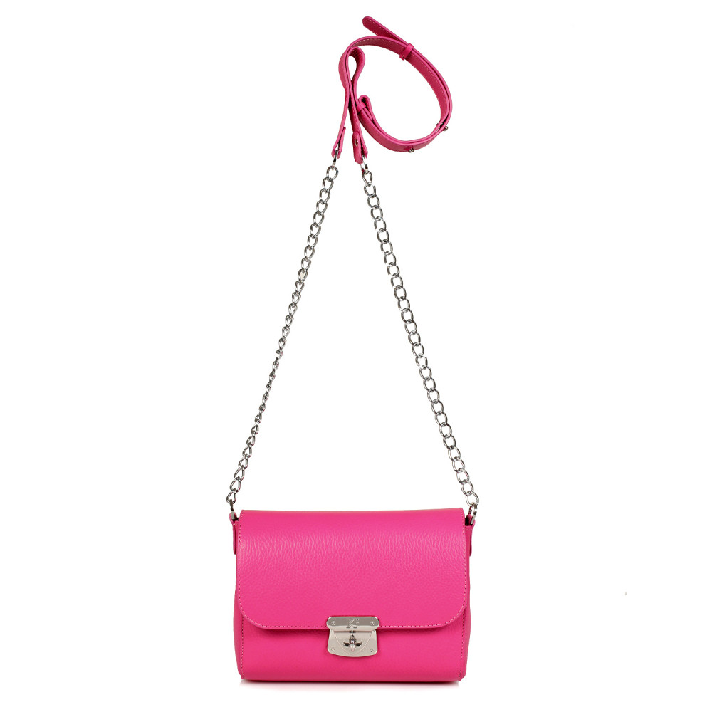 Women's leather bag on a chain Prima S KF-469-2