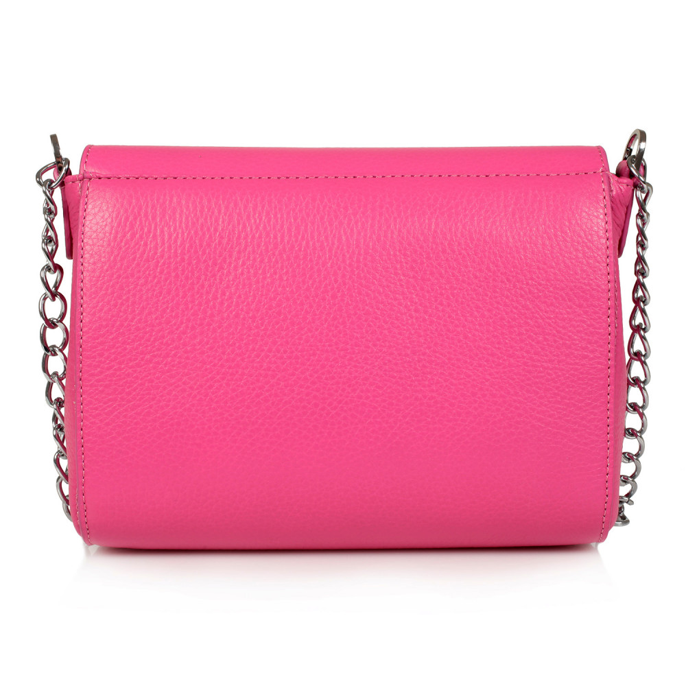 Women's leather bag on a chain Prima S KF-469-3