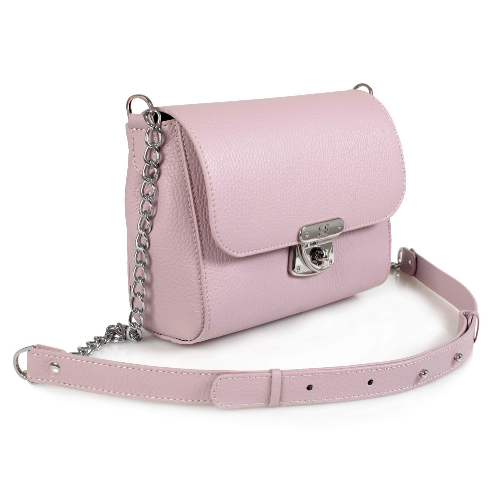 Women's leather bag on a chain Prima S KF-470-1