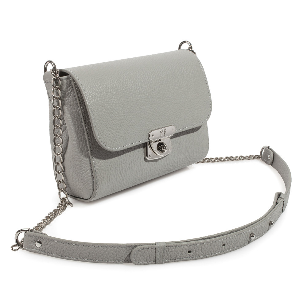 Women's leather bag on a chain Prima S KF-475-1