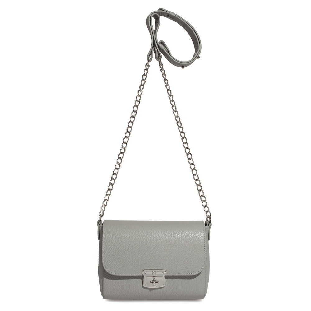 Women's leather bag on a chain Prima S KF-475-2