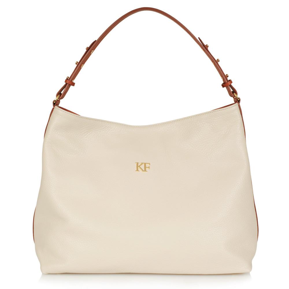 Жіноча шкіряна сумка-мішок Хобо Nata KF-481