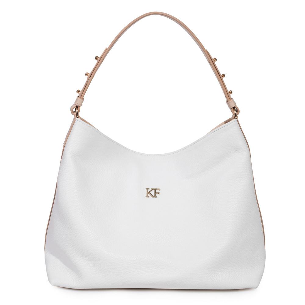 Жіноча шкіряна сумка-мішок Хобо Nata KF-485