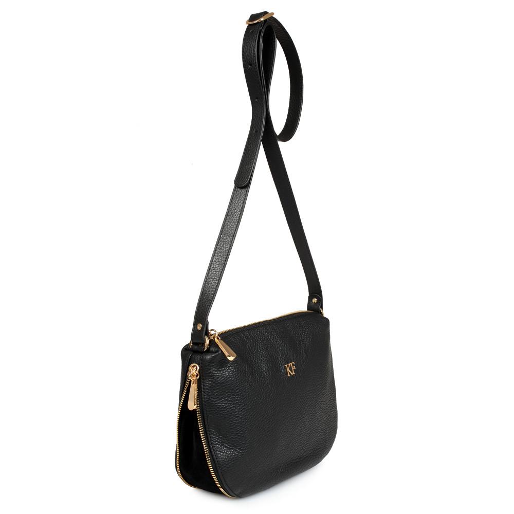 Жіноча шкіряна сумка кросс-боді Mia KF-523