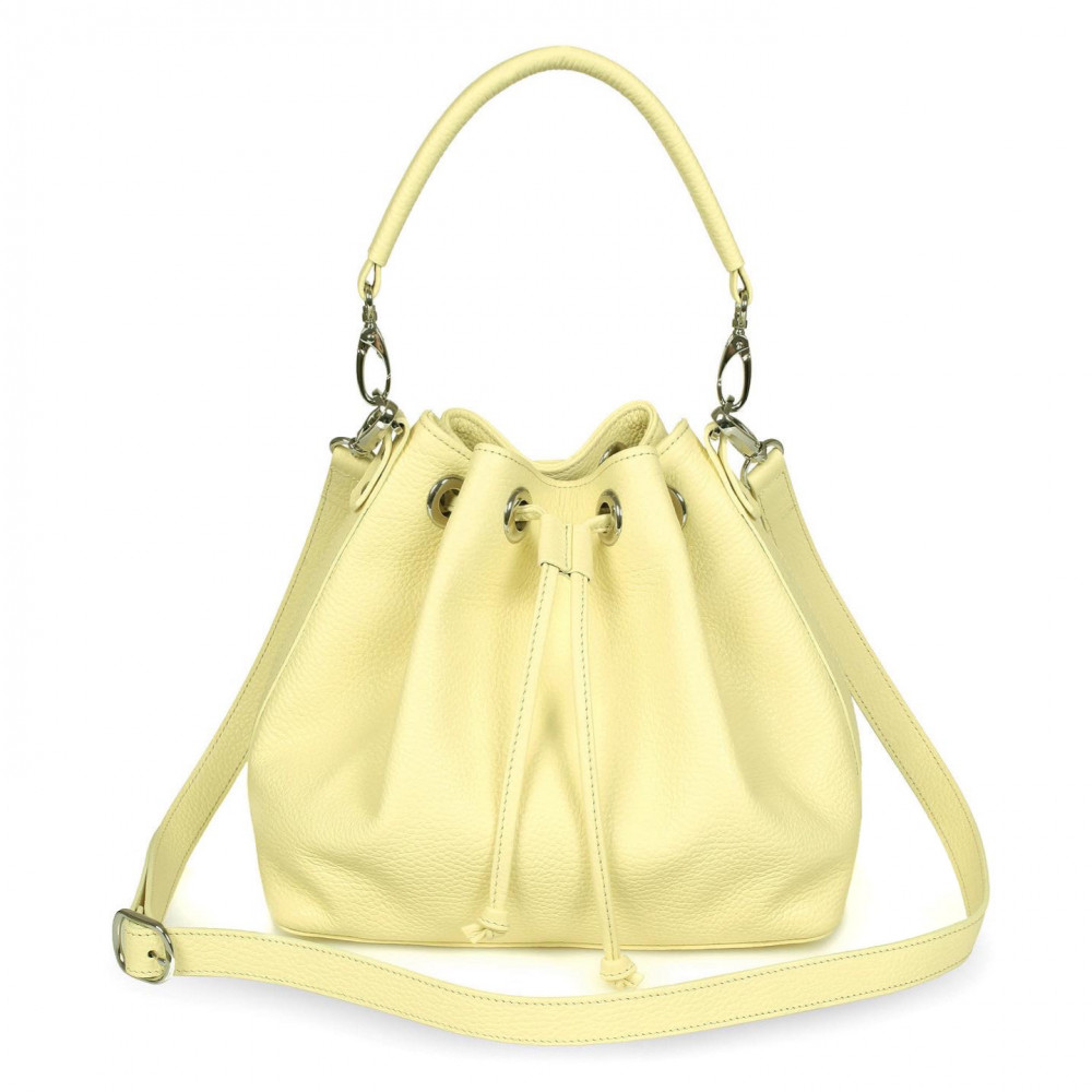 Жіноча шкіряна сумка-мішок Хобо Sonya KF-532-