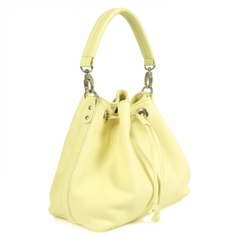 Жіноча шкіряна сумка-мішок Хобо Sonya KF-532-1