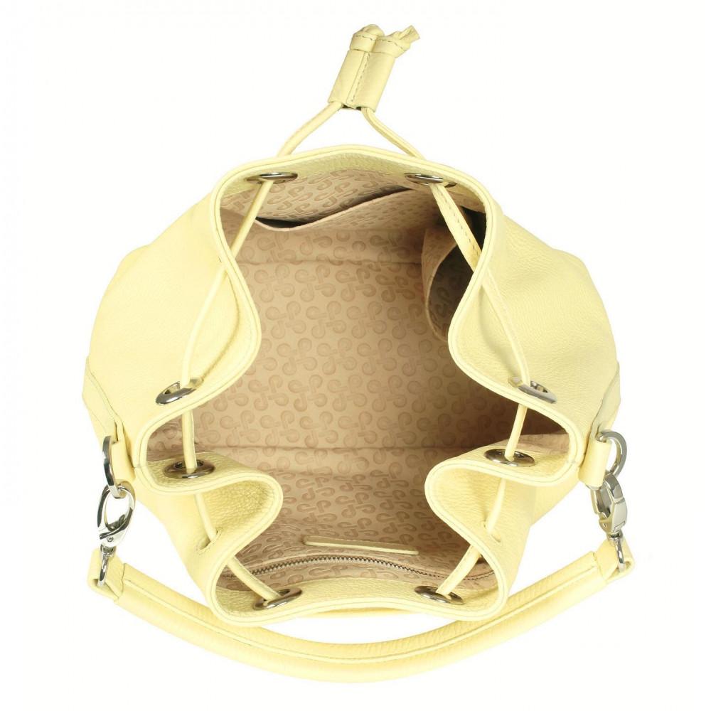Жіноча шкіряна сумка-мішок Хобо Sonya KF-532-4