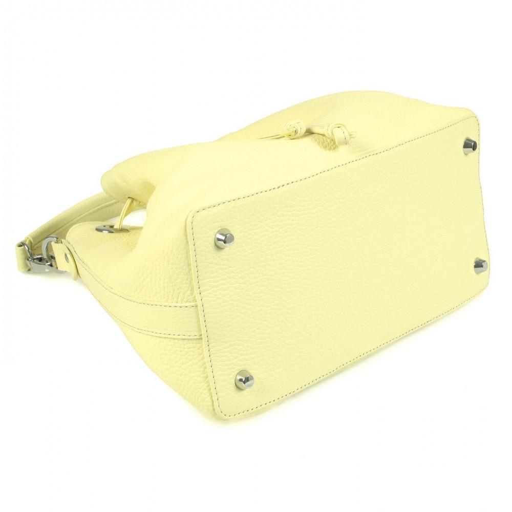 Жіноча шкіряна сумка-мішок Хобо Sonya KF-532-5