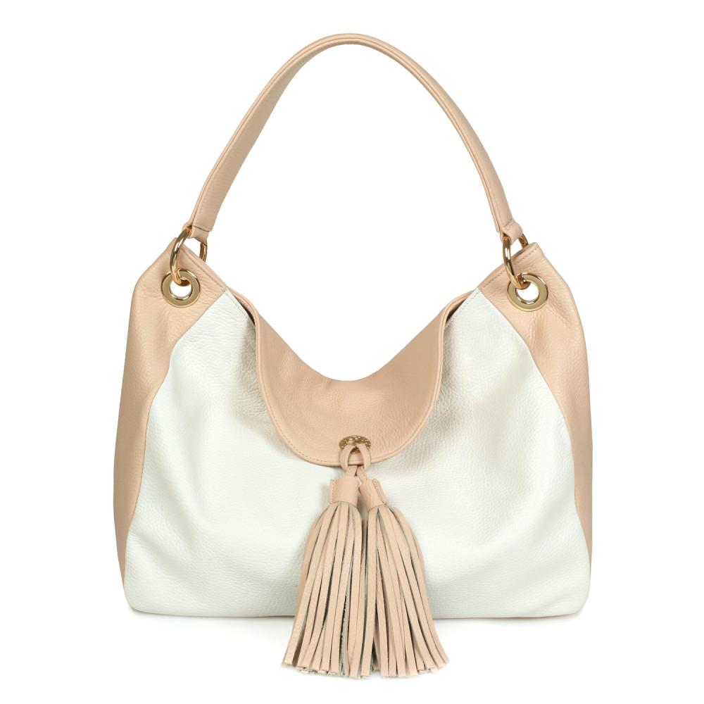 Жіноча шкіряна сумка-мішок Хобо Lora KF-539