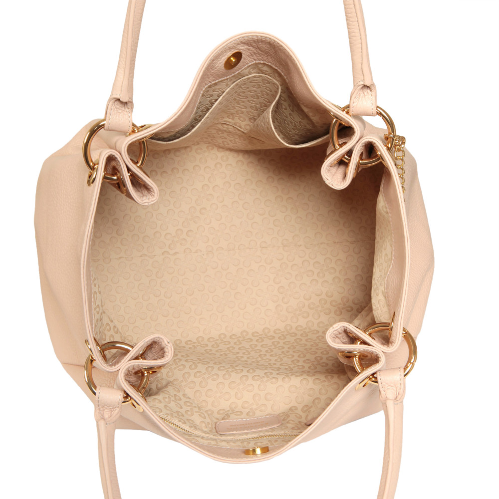 Women's leather Hobo bag Irina KF-562-2