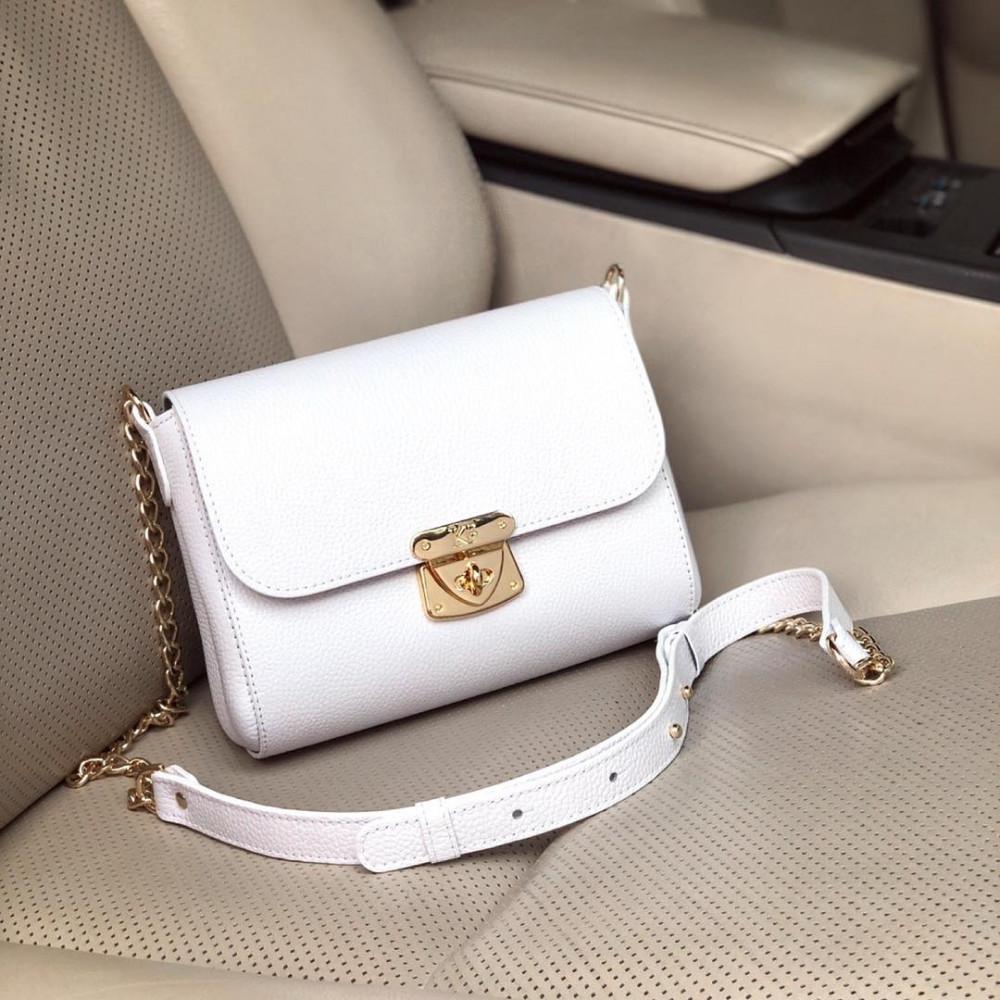 Жіноча шкіряна сумка на ланцюжку Prima S KF-565