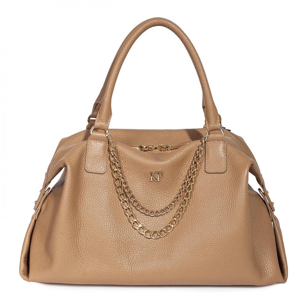 Жіноча шкіряна сумка Mary KF-600