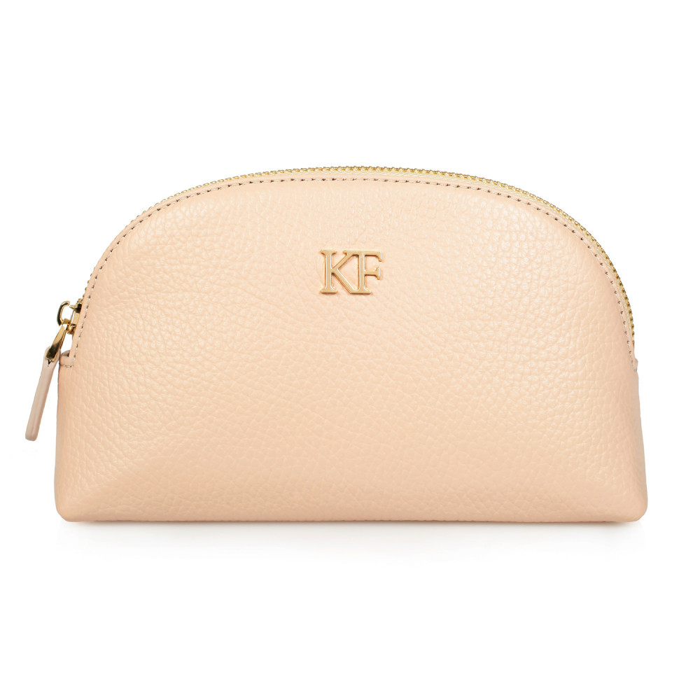 Women's leather cosmetic bag Ksusha KF-604