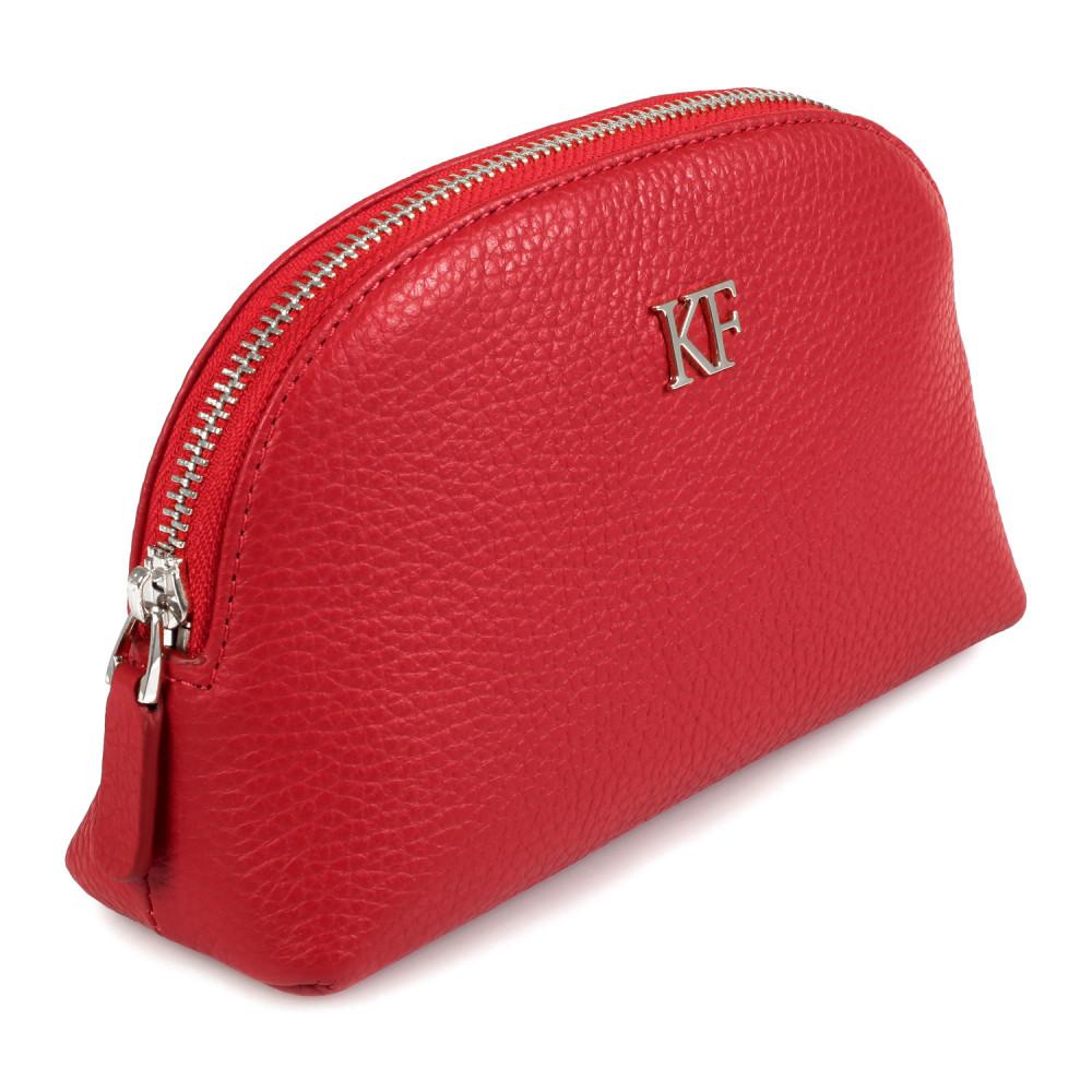 Жіноча шкіряна косметичка Ksusha KF-607-1