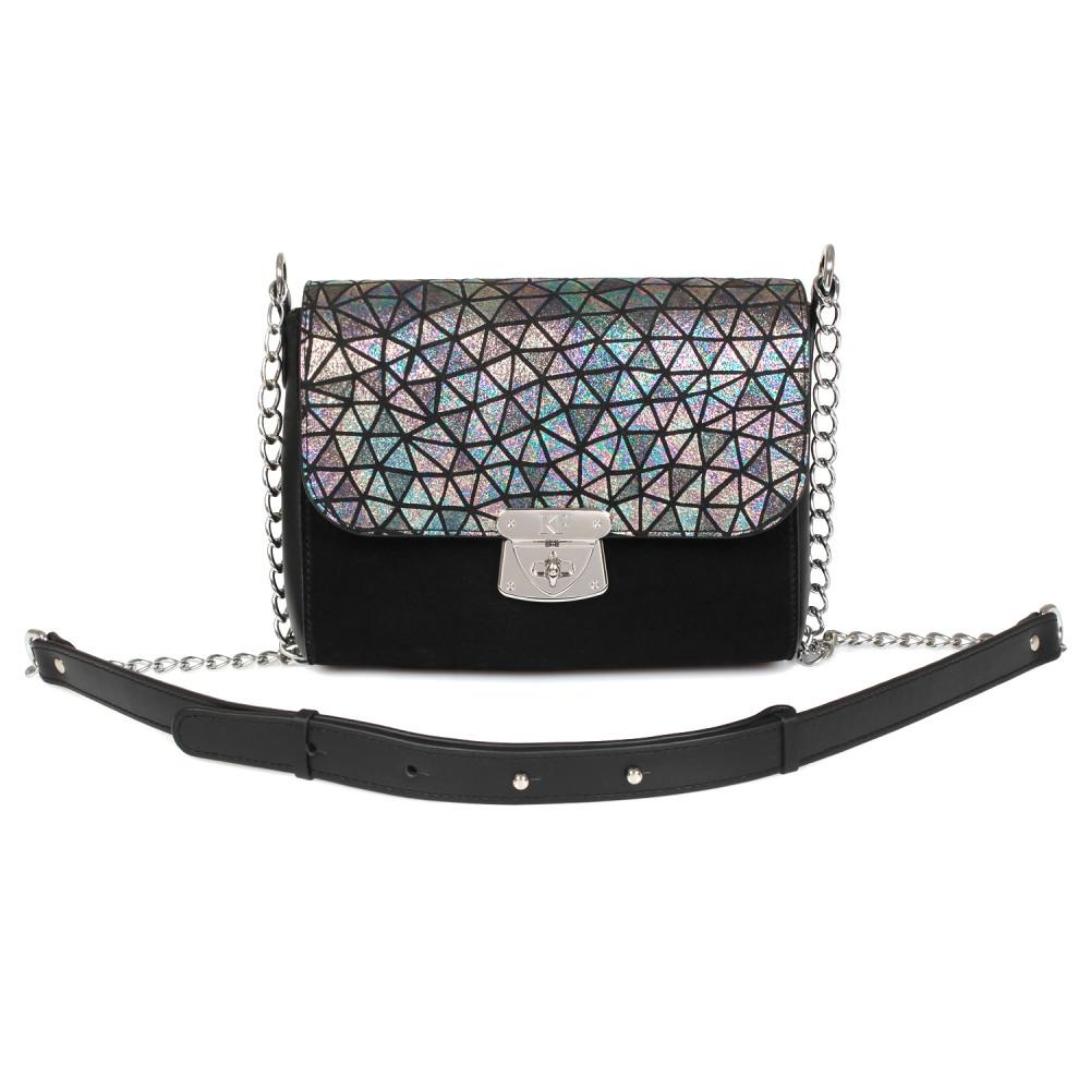Жіноча шкіряна сумка на ланцюжку Prima S KF-631-